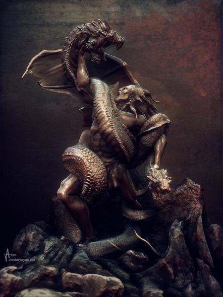 Vahagn Vishabakagh The Dragon Reaper