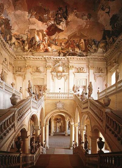 Wurzburg Palace interior