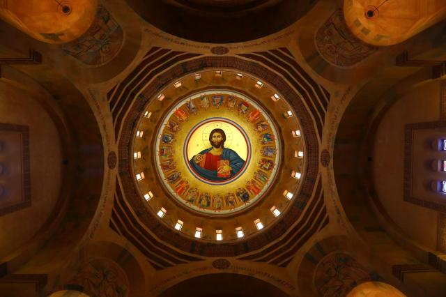 Dome of Abovian Church interior