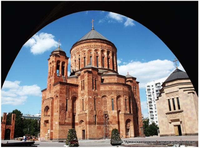Armenian church in moscow