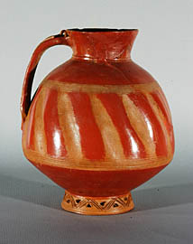 Pitcher, red-polished11th -12th cc., Dvin