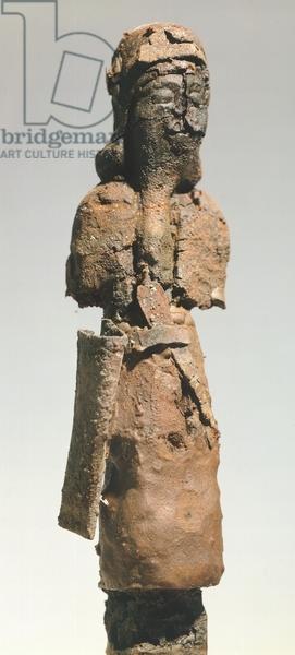 Bronze figure, from Karmir Blur, Armenia. Armenian Civilization, 7th Century BC.