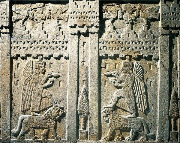 Relief depicting offering bearers, from Urartu, Armenia
