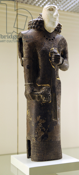 Urartu civilization. Statue. male figure. From Tushpa. 7th century B.C.