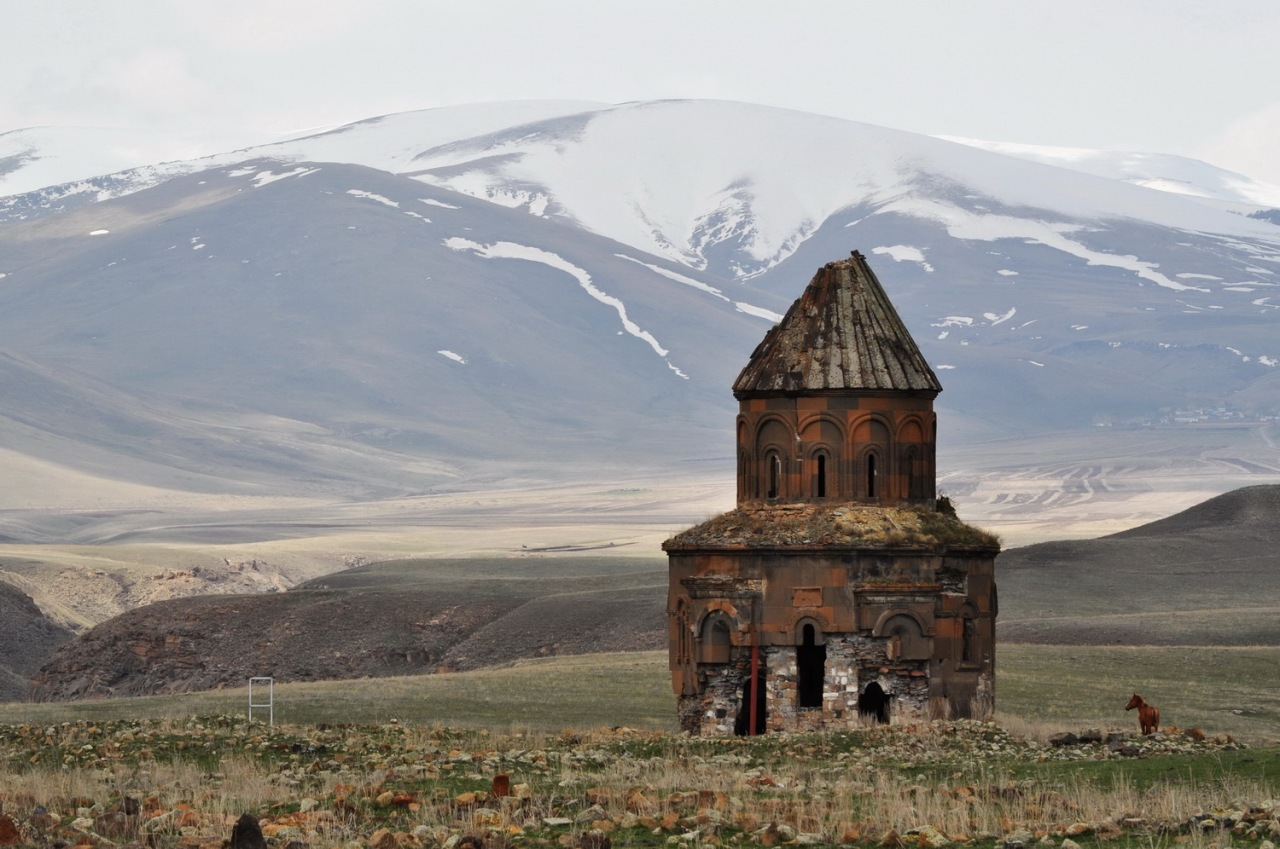 Armenian medieval church of Ani