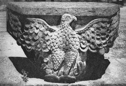 Eagle from Zvartnots