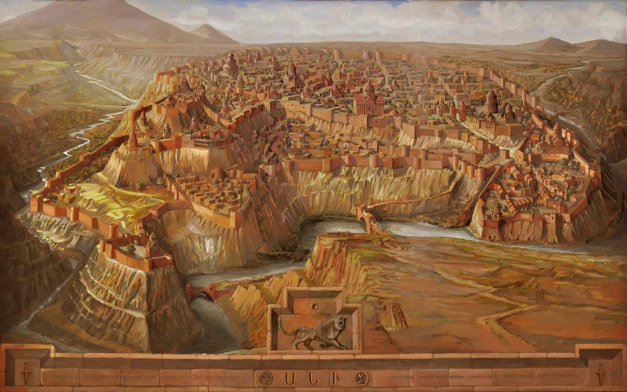 Ani, city of 1001 churches « Cradle of Civilization